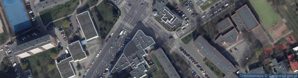Zdjęcie satelitarne Górnośląska 80