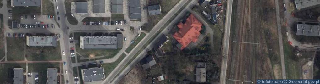 Zdjęcie satelitarne Górna 6
