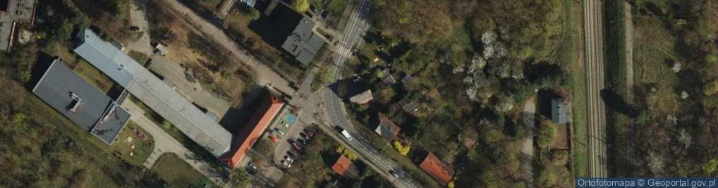 Zdjęcie satelitarne Golęcińska ul.