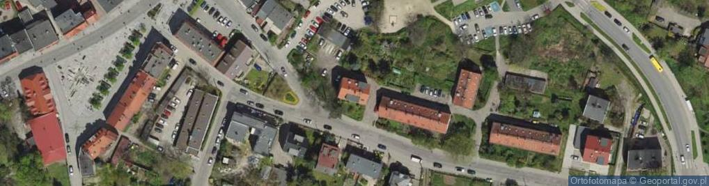 Zdjęcie satelitarne Gorlicka ul.