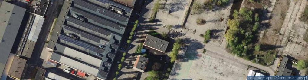 Zdjęcie satelitarne Góralska ul.
