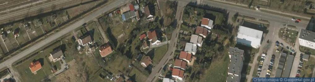 Zdjęcie satelitarne Górnicza 8
