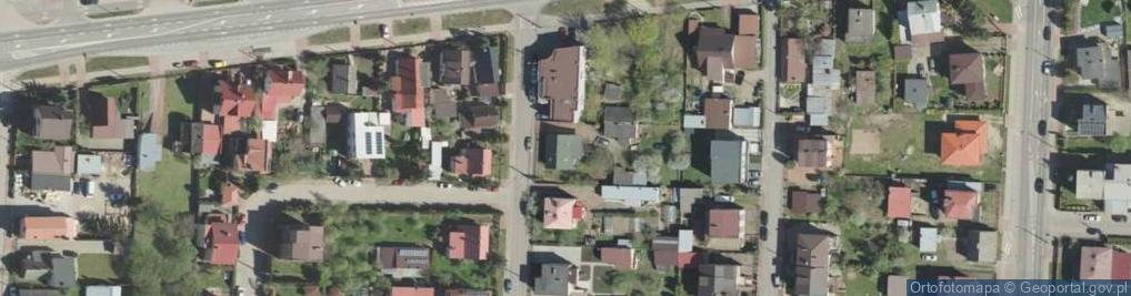 Zdjęcie satelitarne Gródecka ul.