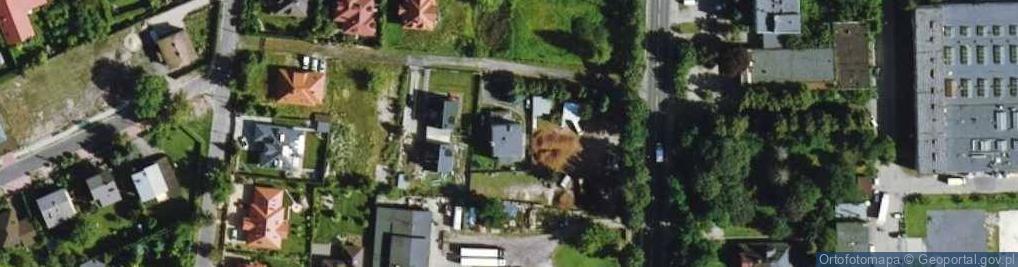 Zdjęcie satelitarne Grodziska 54