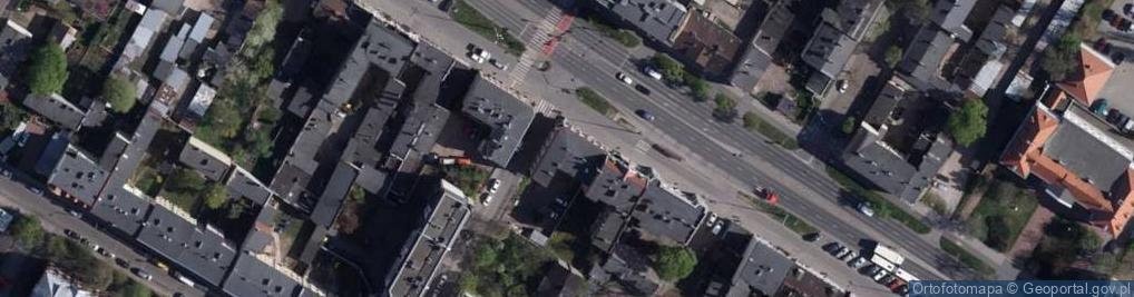 Zdjęcie satelitarne Grunwaldzka 57