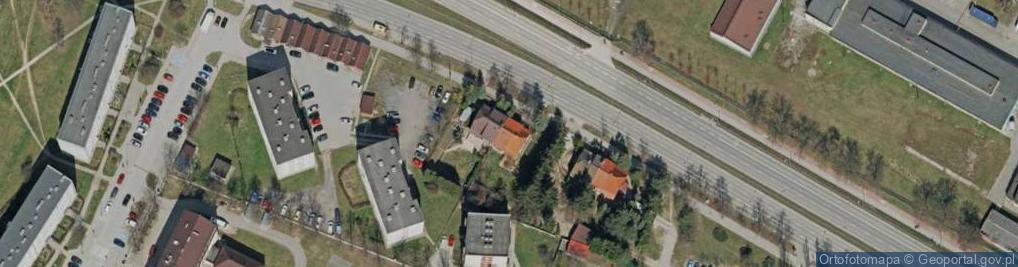 Zdjęcie satelitarne Grunwaldzka 25