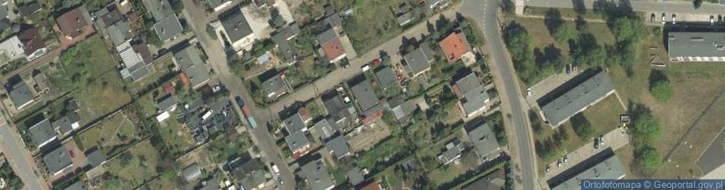 Zdjęcie satelitarne Gruszkowa ul.