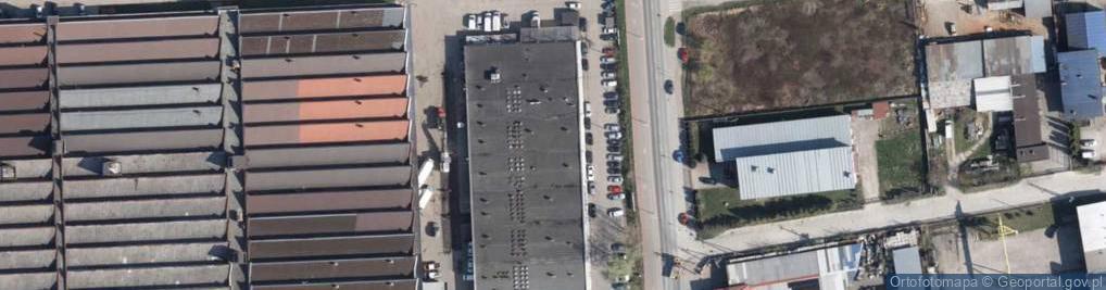 Zdjęcie satelitarne Graniczna 46