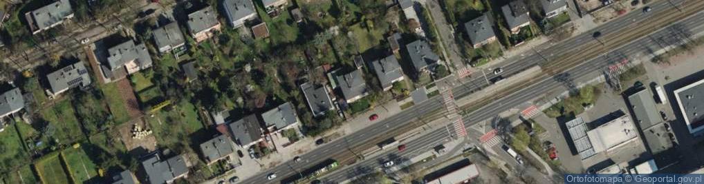 Zdjęcie satelitarne Grunwaldzka 125