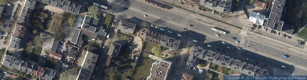 Zdjęcie satelitarne Grochowska ul.