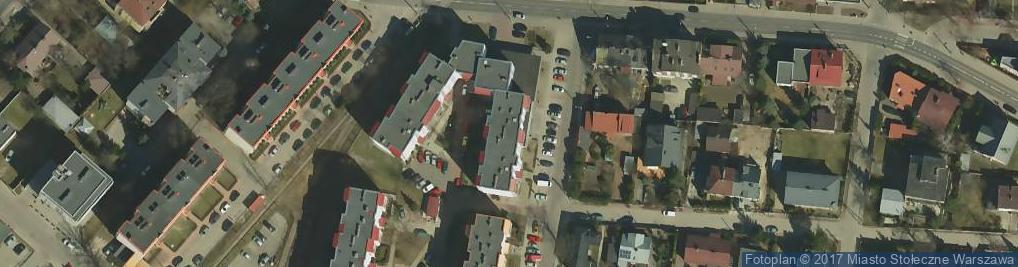 Zdjęcie satelitarne Grawerska ul.