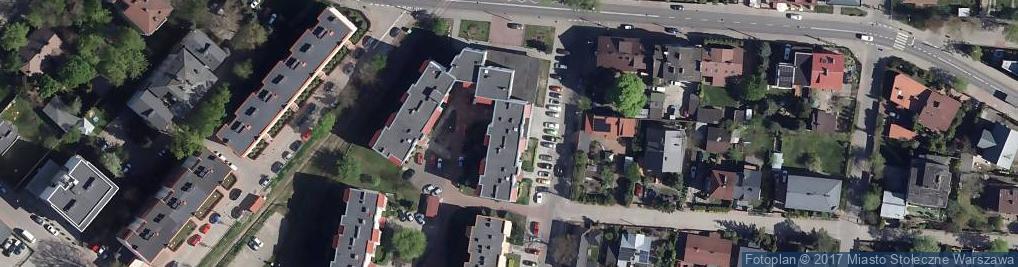 Zdjęcie satelitarne Grawerska 5