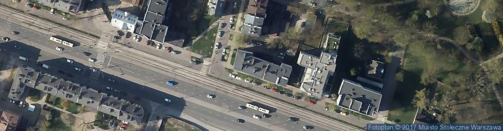 Zdjęcie satelitarne Grochowska 86