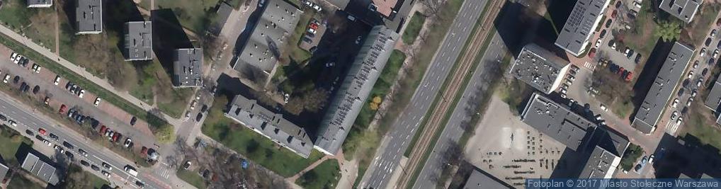 Zdjęcie satelitarne Grójecka ul.