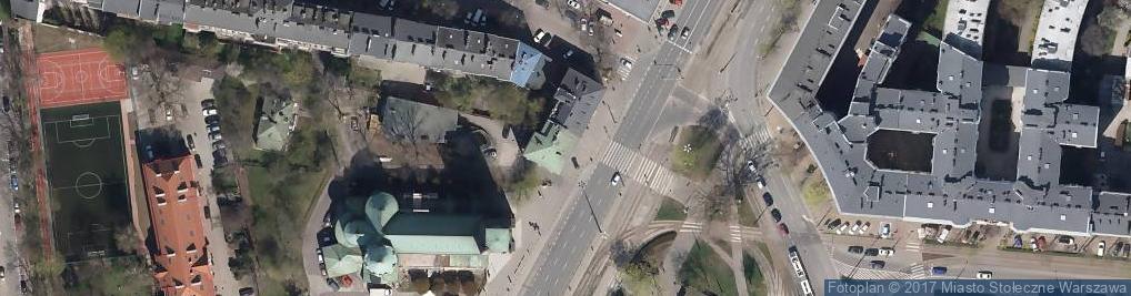 Zdjęcie satelitarne Grójecka 38