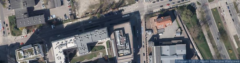Zdjęcie satelitarne Grzybowska 81