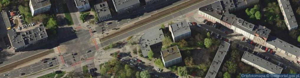 Zdjęcie satelitarne Grabiszyńska 56