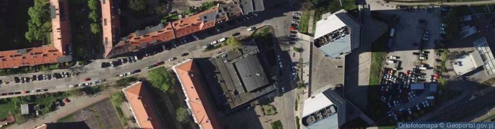 Zdjęcie satelitarne Grunwaldzka 67