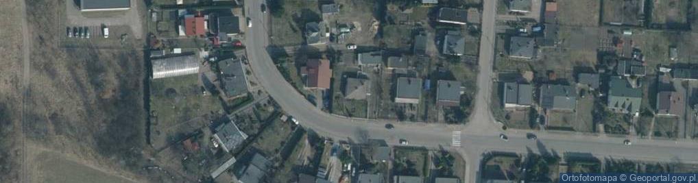 Zdjęcie satelitarne Gwardii Ludowej ul.