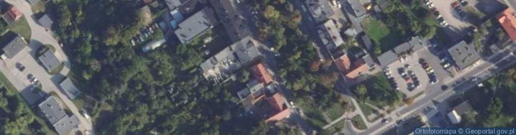 Zdjęcie satelitarne Harcerska 10