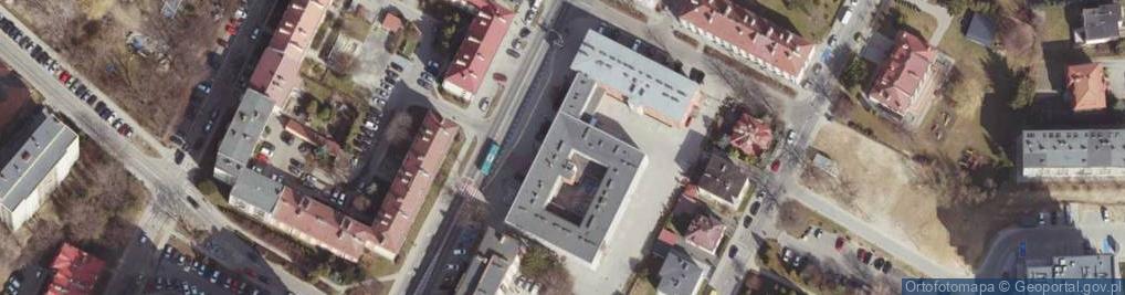 Zdjęcie satelitarne Hetmańska 21