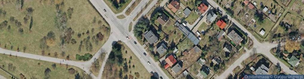 Zdjęcie satelitarne Husarska ul.