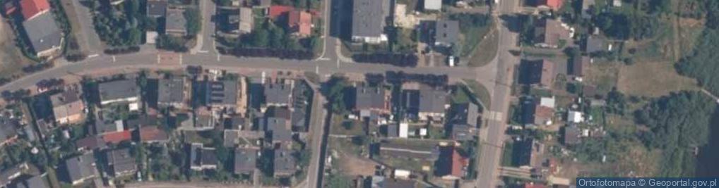 Zdjęcie satelitarne Hubego Michała ul.