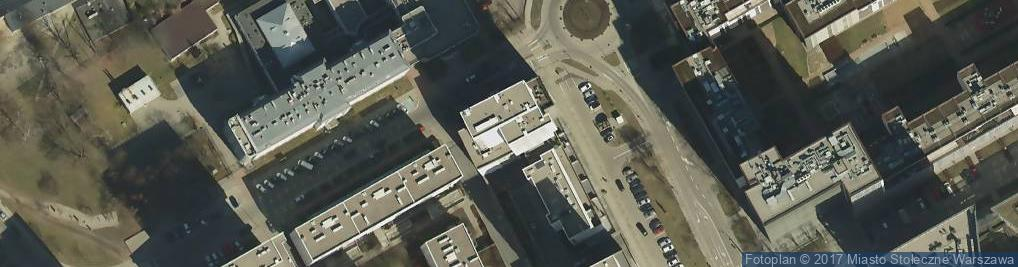 Zdjęcie satelitarne Inflancka 5
