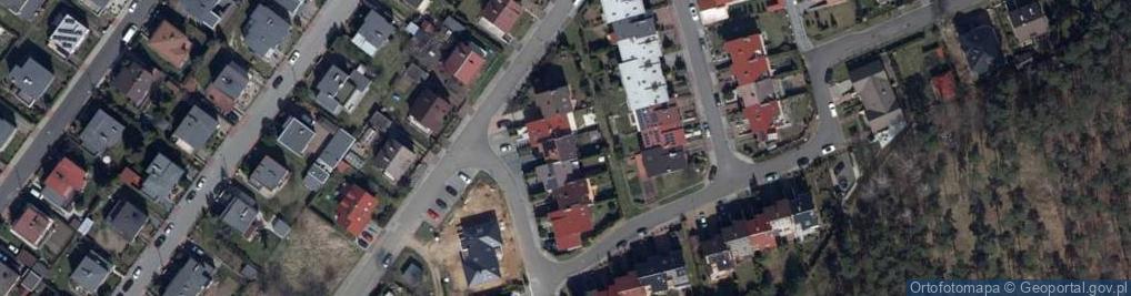 Zdjęcie satelitarne Jagodowa 5