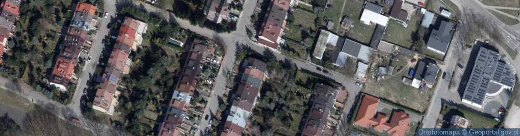 Zdjęcie satelitarne Jagoszewskiego Mieczysława 34