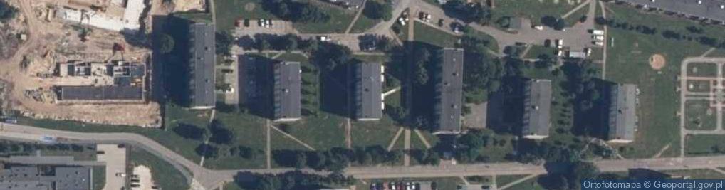 Zdjęcie satelitarne Jachowskiego Władysława 14