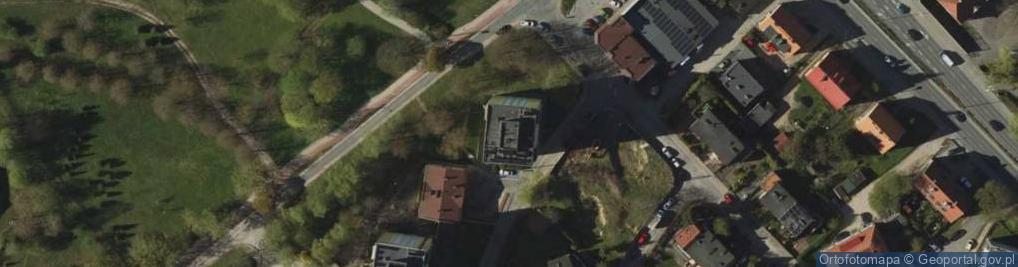 Zdjęcie satelitarne Jeziorna 1a
