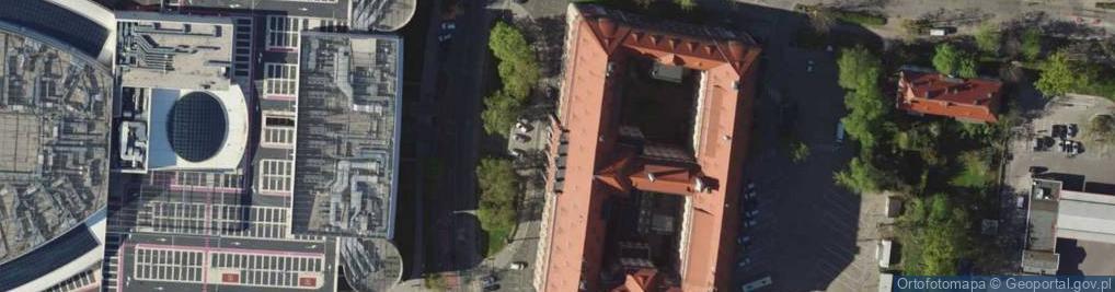 Zdjęcie satelitarne Joannitów ul.