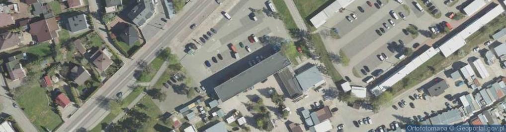Zdjęcie satelitarne Kawaleryjska ul.