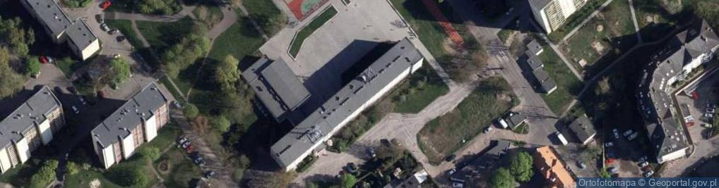 Zdjęcie satelitarne Karpacka 30