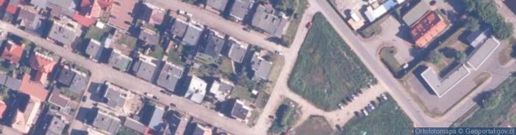 Zdjęcie satelitarne Kaszubska 18
