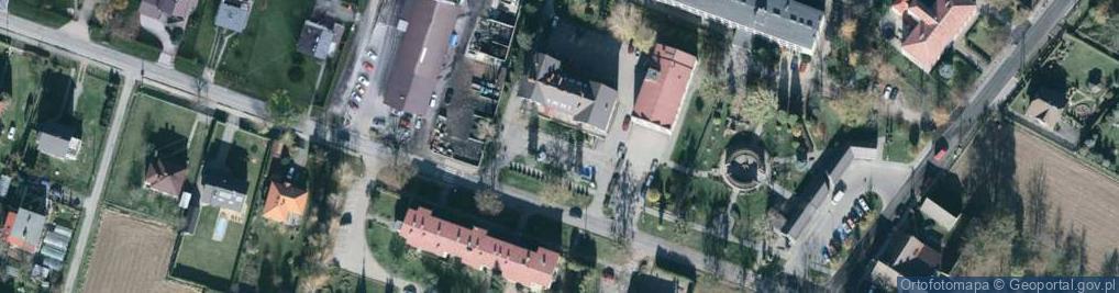 Zdjęcie satelitarne Katowicka 6