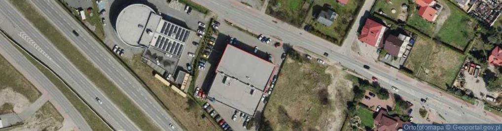 Zdjęcie satelitarne Kartuska 408