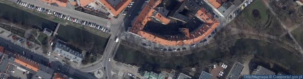 Zdjęcie satelitarne Kazimierzowska 10