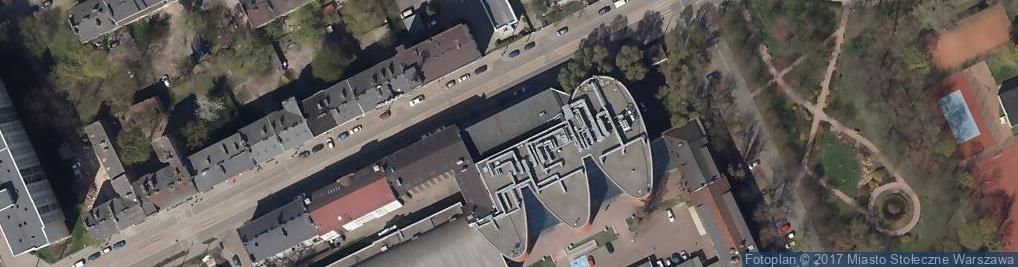 Zdjęcie satelitarne Kawęczyńska ul.