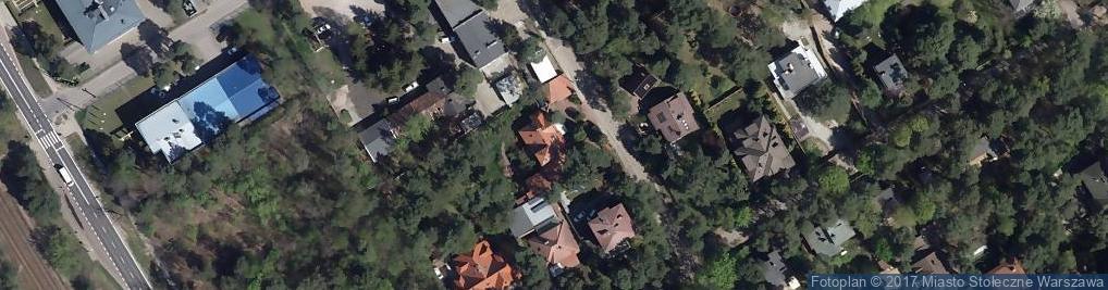 Zdjęcie satelitarne Kąkolowa 71