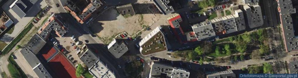 Zdjęcie satelitarne Kaszubska 15