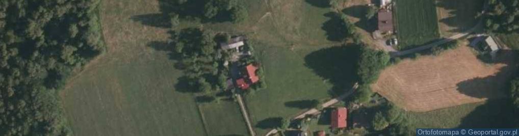 Zdjęcie satelitarne Kisiały, dr. ul.