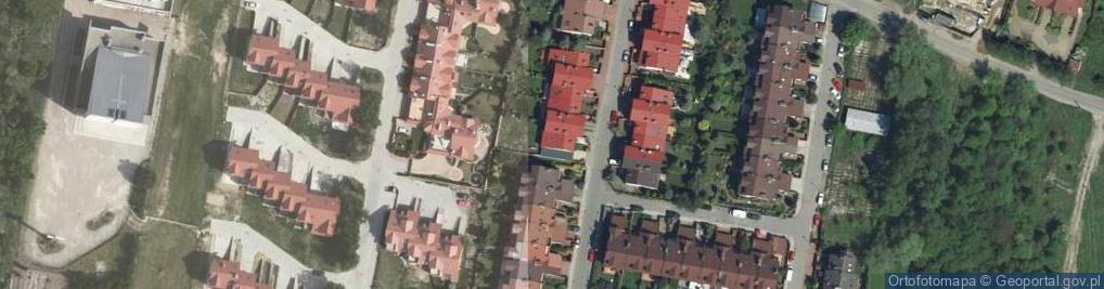 Zdjęcie satelitarne Kiwerskiego, gen. ul.