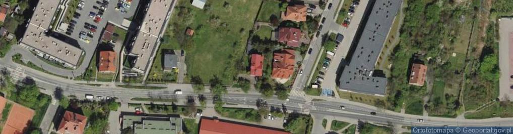 Zdjęcie satelitarne Kiełczowska 28