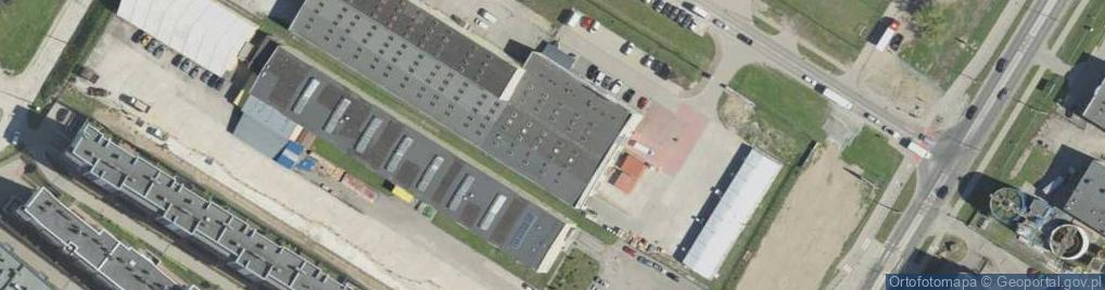 Zdjęcie satelitarne Kombatantów ul.