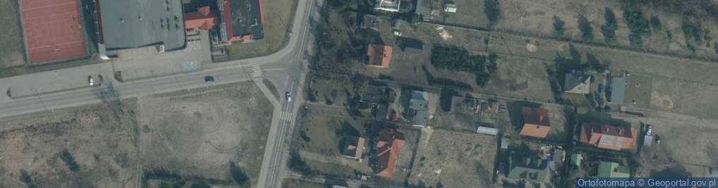 Zdjęcie satelitarne Kolejowa 44