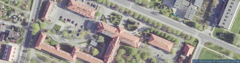 Zdjęcie satelitarne Kościuszki Tadeusza, gen. 15A