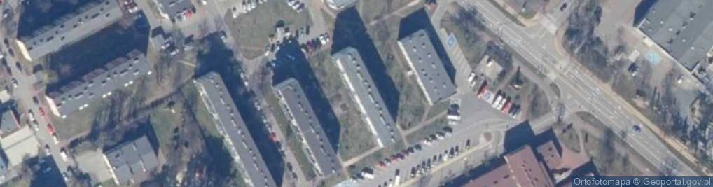 Zdjęcie satelitarne Kopernika Mikołaja 12