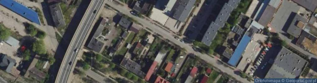 Zdjęcie satelitarne Kochanowskiego Jana 41